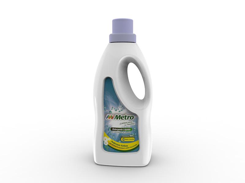 Frasco De Detergente Liquido
